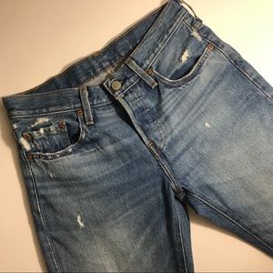 Levi's 501 T Tapered Jeans Waist 29